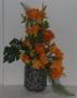 Flor artificial para bucaro de piedra